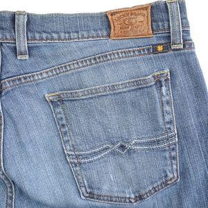Lucky Brand Classic Rider Straight Leg Denim Jeans